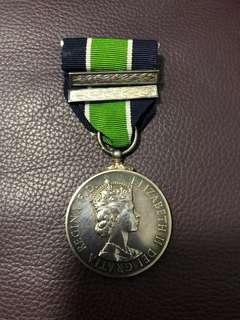 皇家香港警察長期服務獎章