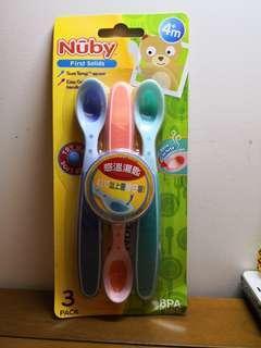 🚚 Nuby 感溫湯匙(3入)
