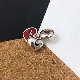 Pandora Mickey & Minnie Dangle Charm