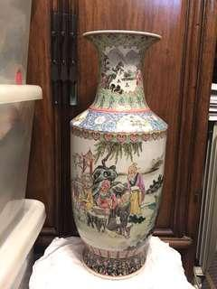 八九十年代景德鎮粉彩人物大花瓶