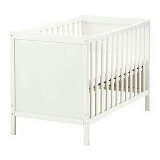 Ikea Baby Cot: Sundvik