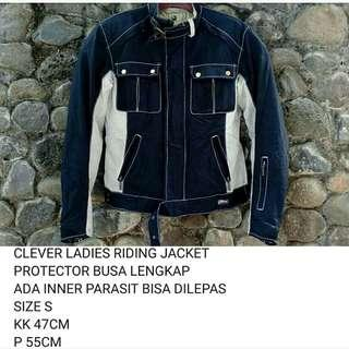 JAKET MOTOR TOURING RIDING CEWEK NOT YELLOW CORN SIMPSON NANKAI HONDA