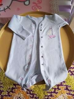 Mothercare baby sleepsuit 3-6mths