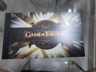 Game of Thrones Prestige Stamp Book