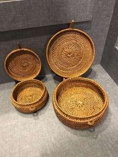 Balinese accessories rattan handcrafted storage