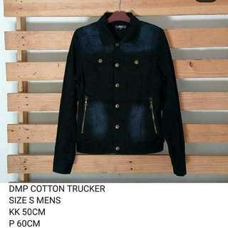 Jaket trucker cotton DMP not uniqlo levis