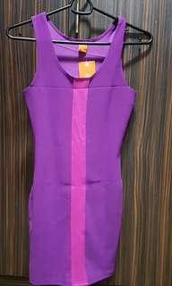 Nice Purple bodycon dress😍