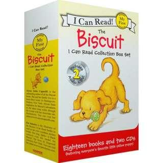 I CAN READ - Biscuit (18 books collections + 02 CD)