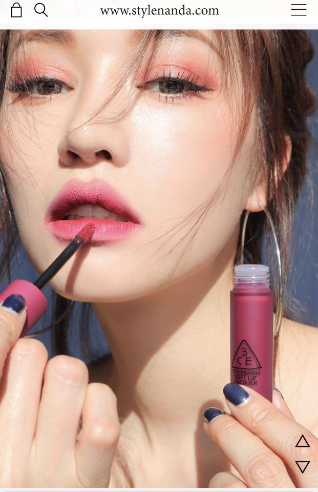 3CE Soft Lip Lacquer