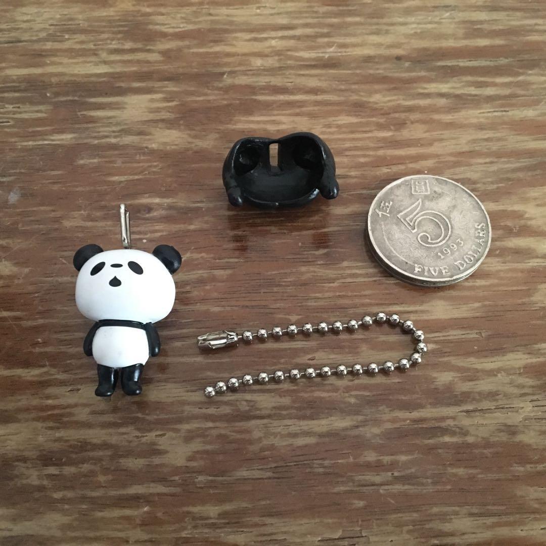 (包郵)熊貓 鎖匙扣 figure