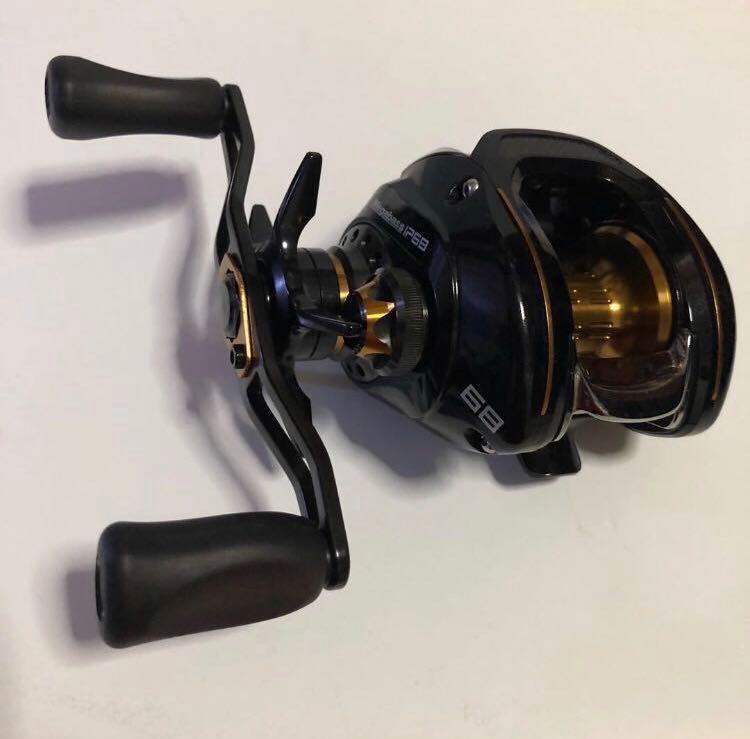 🔥 Fishing reel Megabass LP68 🐠🎣