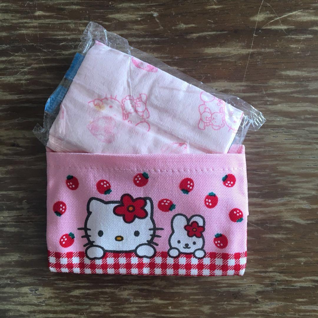 全新 Hello Kitty 紙巾套 懷舊 絕版 1997年