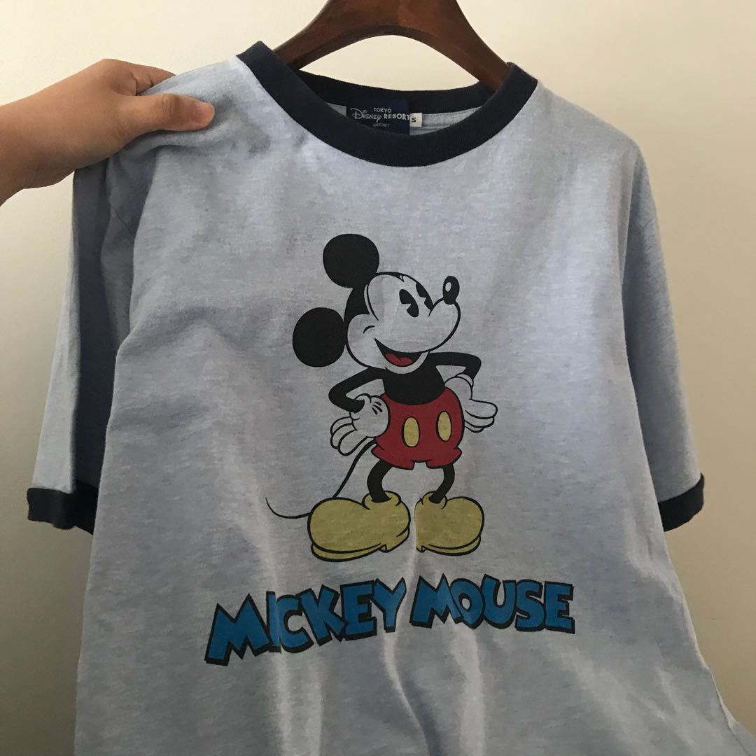 a494110fd 🆕 vintage mickey mouse ringer tee, Men's Fashion, Clothes, Tops on ...