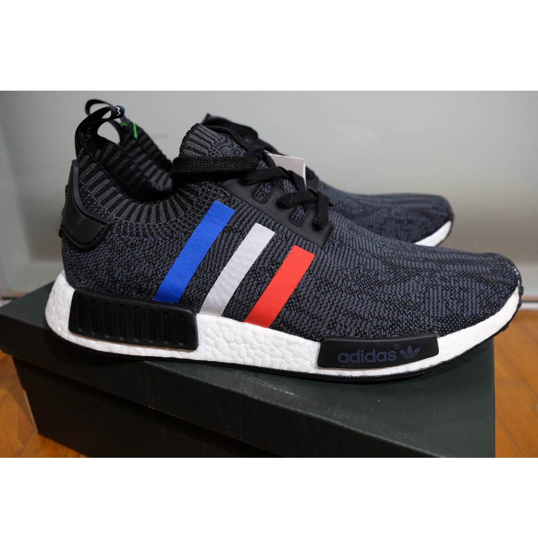 99ff1e9e1 adidas NMD R1 PK Primeknit Tri Color Black UK10.5   US11