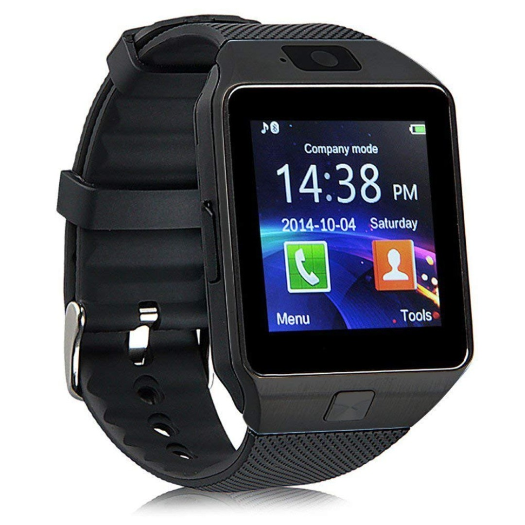 Android Bluetooth Smartwatch with Camera, Mobile Phones & Tablets, Mobile & Tablet Accessories, Mobile Accessories on Carousell