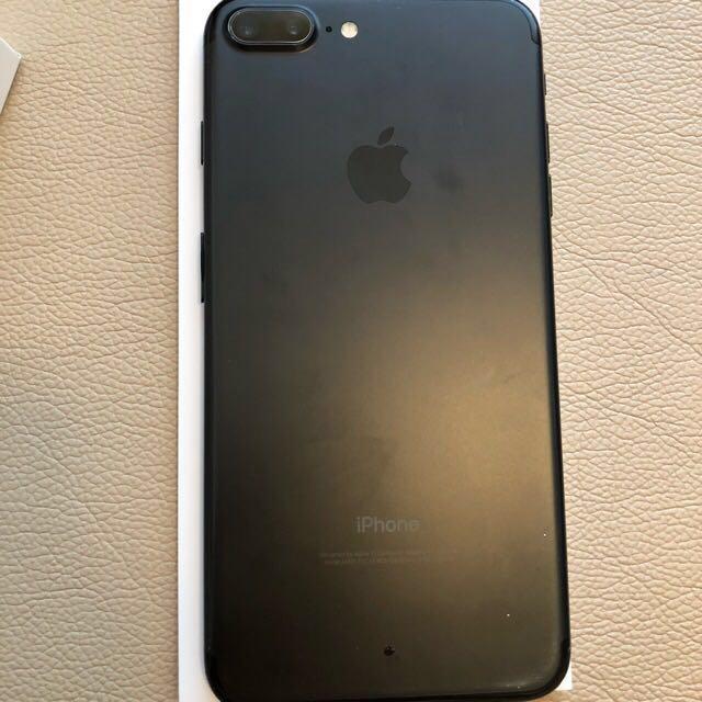 Apple iPhone 7 Plus 256 GB Matt black