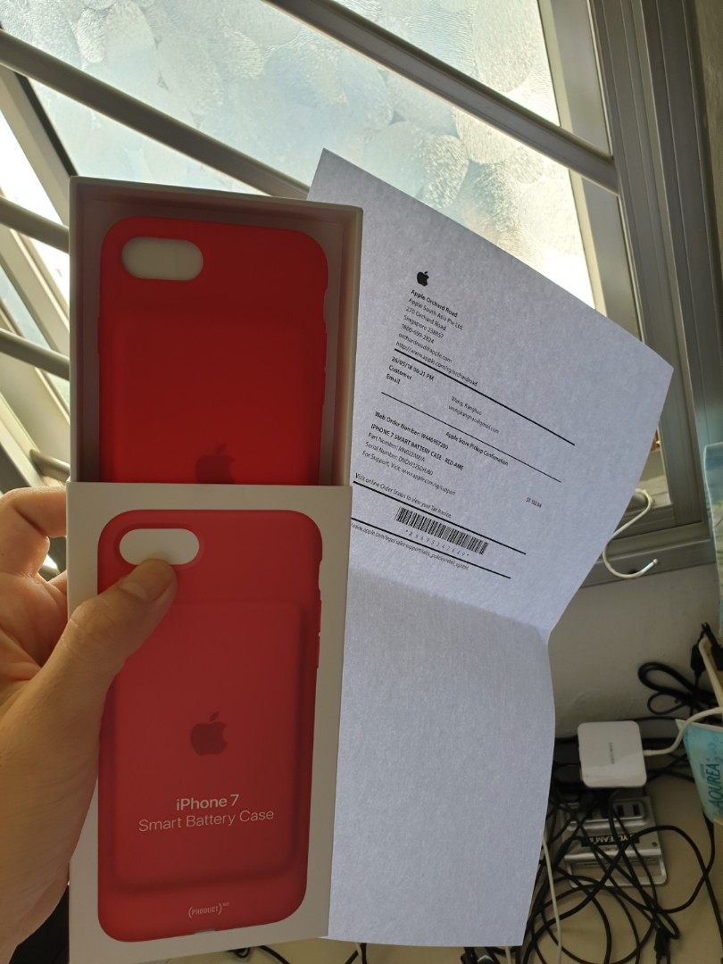 quality design 34983 5d0e6 Apple Smart Battery Case Red warranty till May 2019