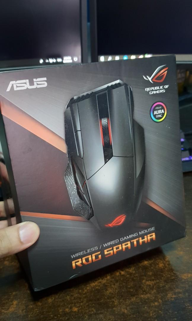 Asus ROG Sparta Wireless / Wired Gaming Mouse, Electronics