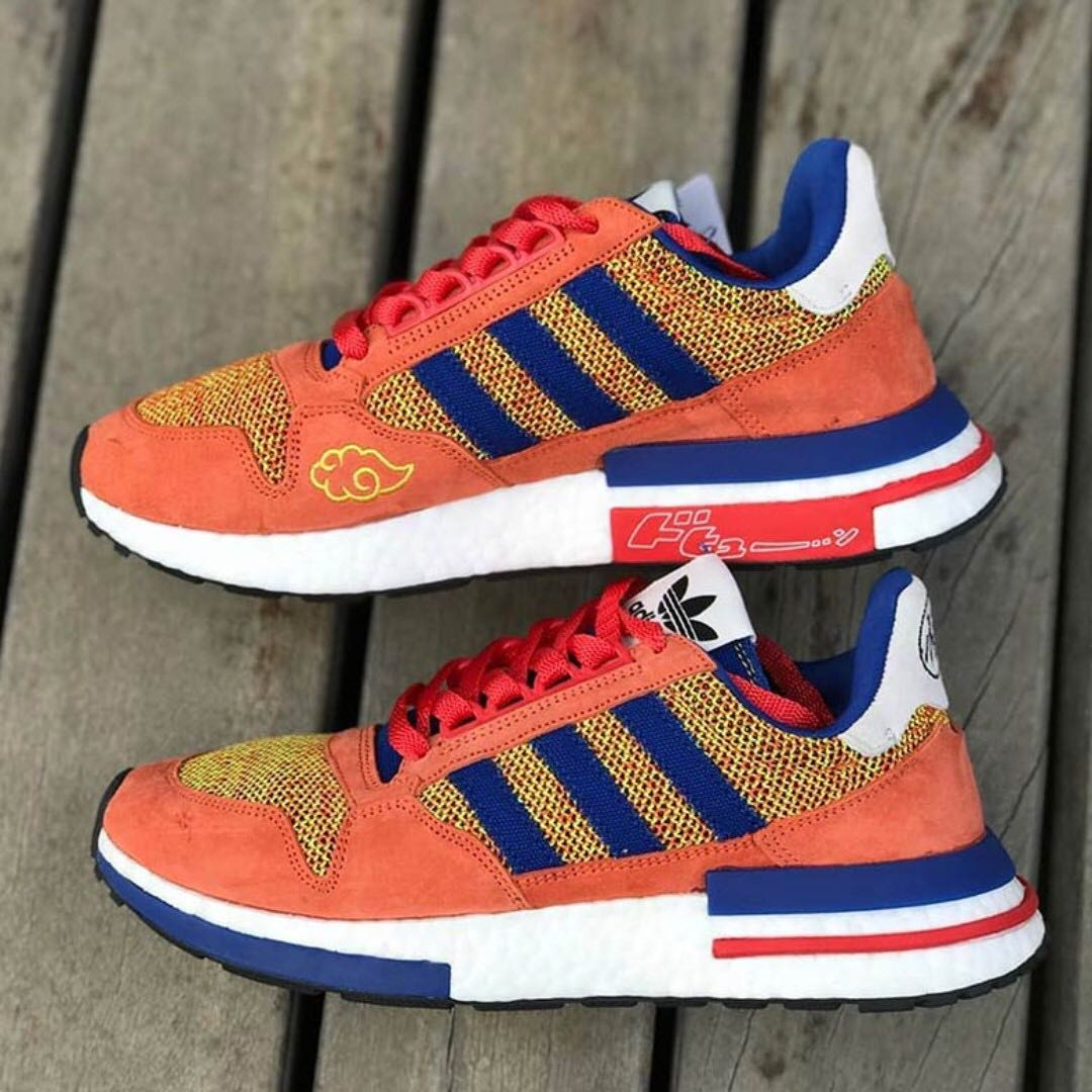 ef2f377b5a0 Authentic Adidas ZM 500 RM x Dragon Ball Z