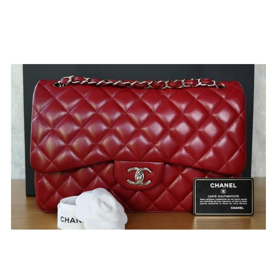 babe872eac5a Authentic Chanel Classic Jumbo Flap Bag, Luxury, Bags & Wallets on ...