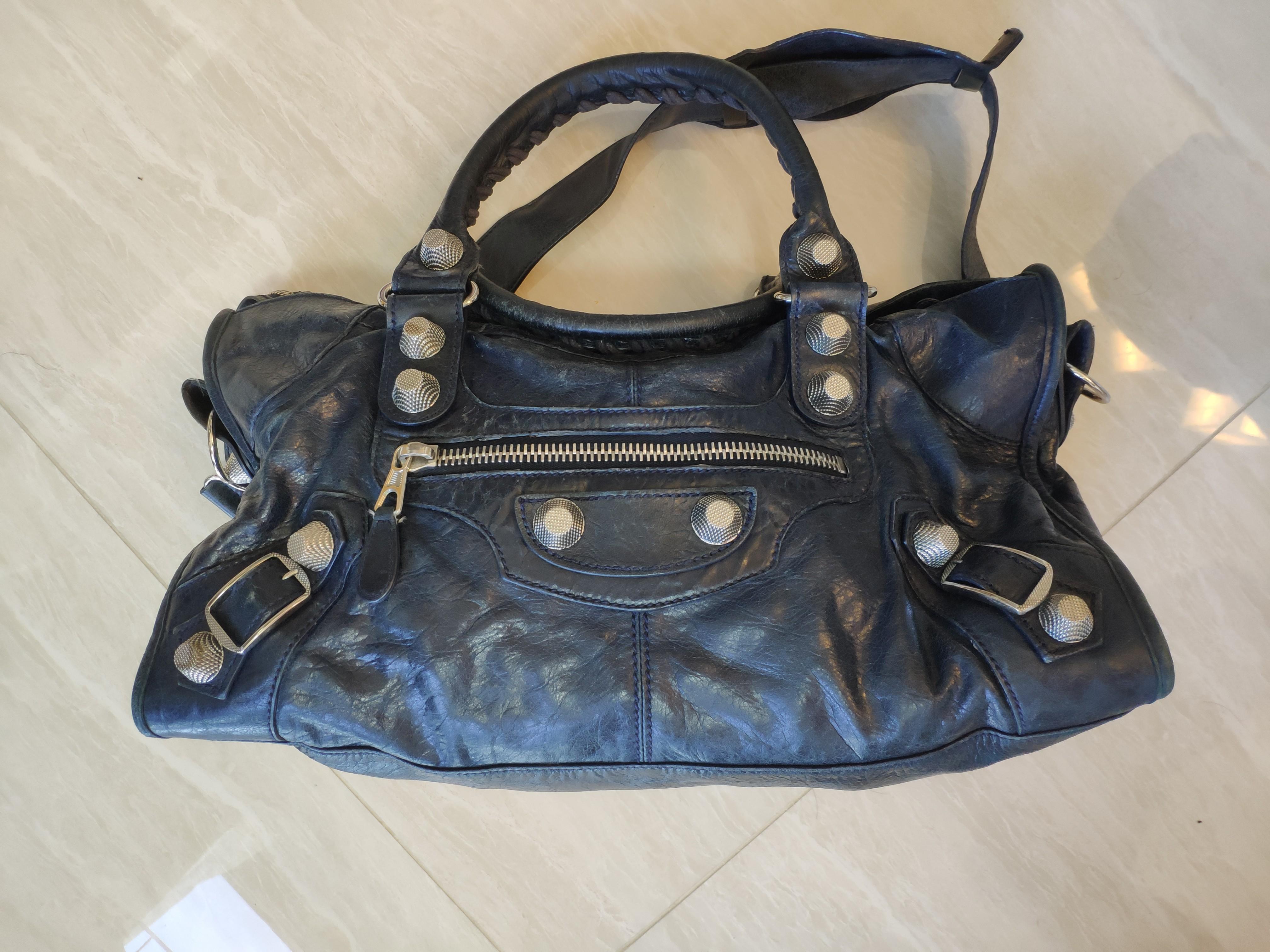 27e44ccdbcd Vintage Balenciaga Giant Silver Part Time, Women's Fashion, Bags ...