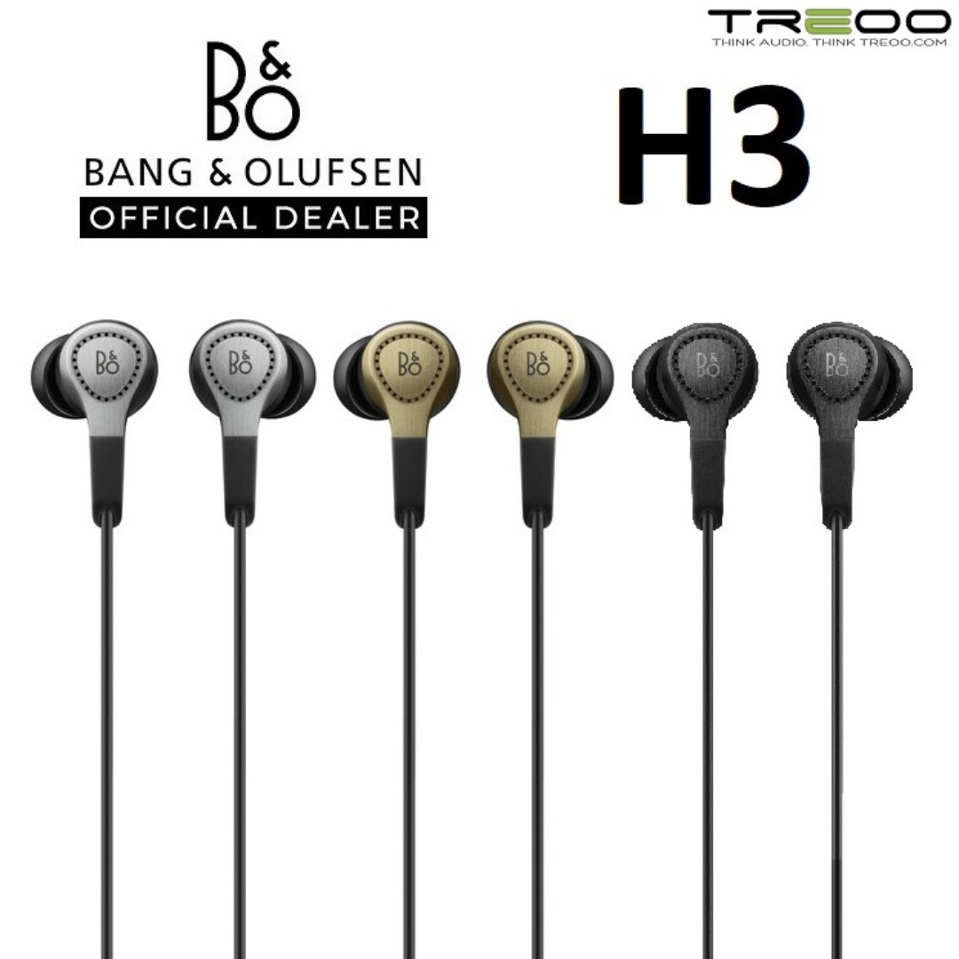 788099c092d Bang & Olufsen Beoplay H3 In-Ear Earphone with Microphone ...