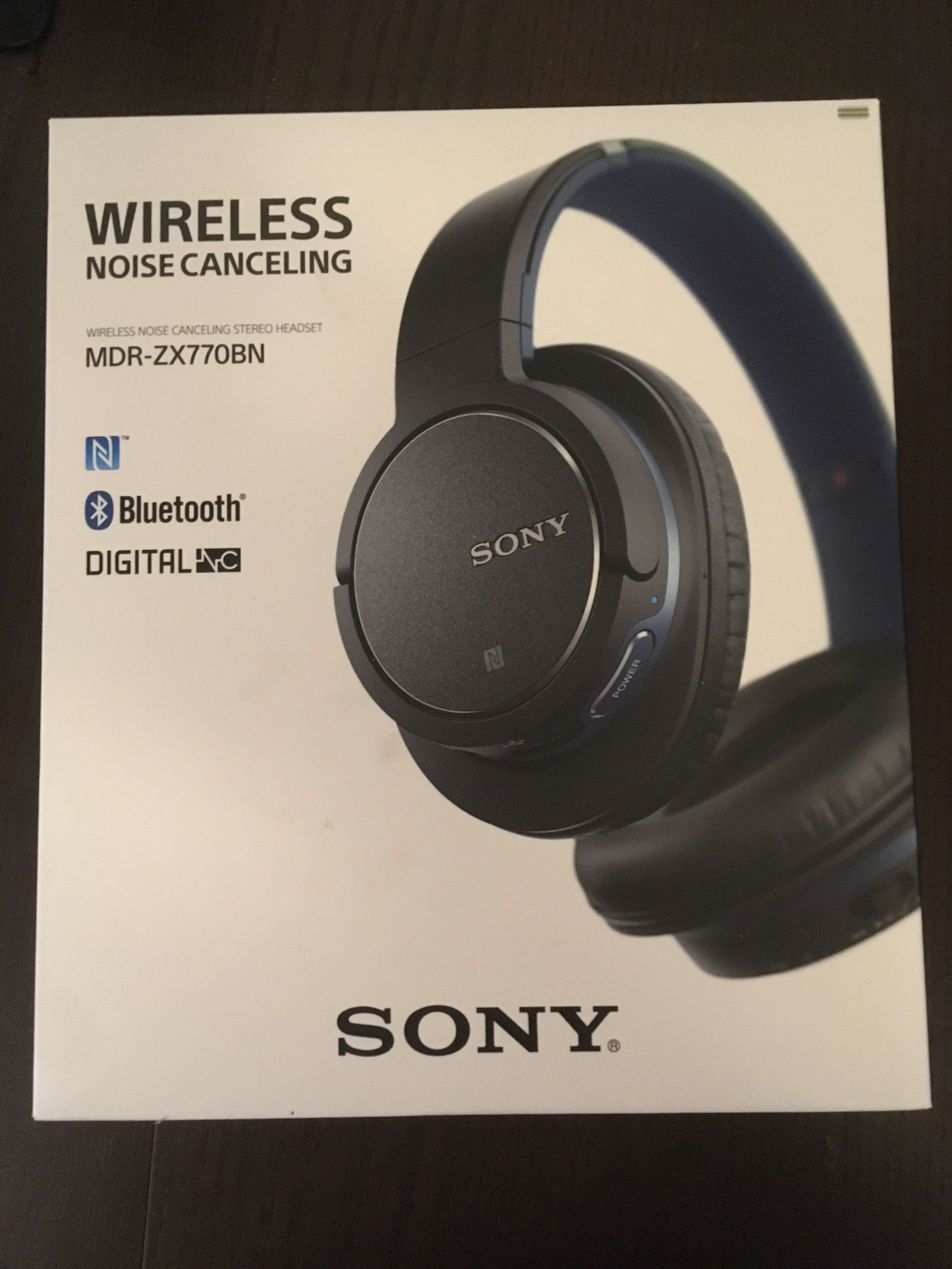 3b4437a33ce Bluetooth Headphone Sony MDR-ZX770BN, Electronics, Audio on Carousell