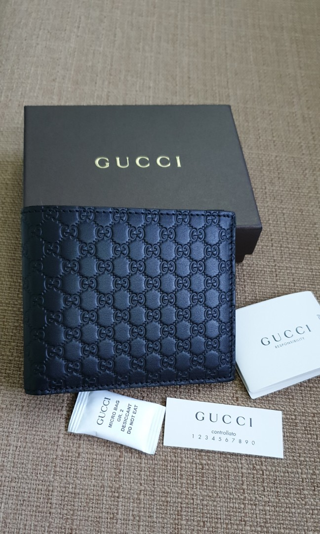 037fffdfa0b9 BN 💯Authentic Gucci Microguccissima Wallet, Luxury, Bags & Wallets, Wallets  on Carousell