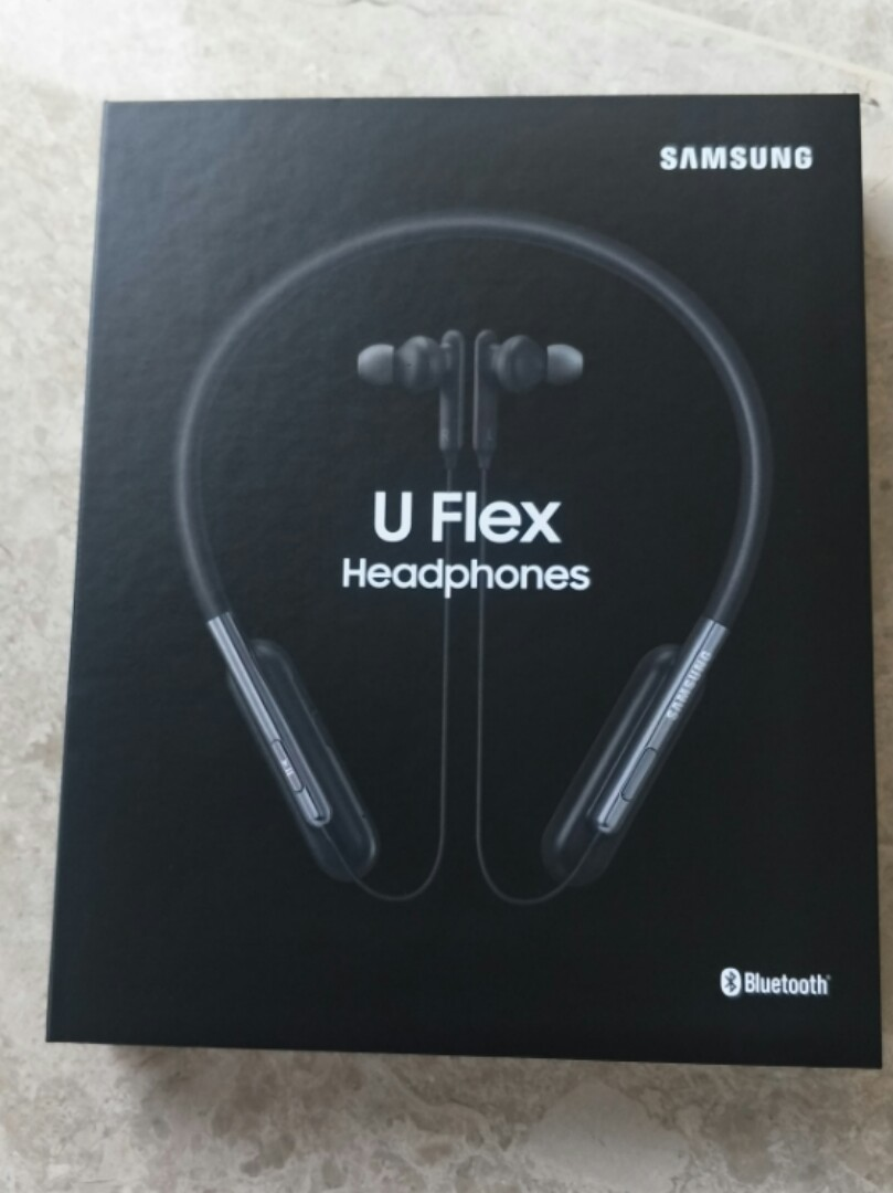 5a839682c2a BNIB Samsung U Flex headphones, Electronics, Audio on Carousell