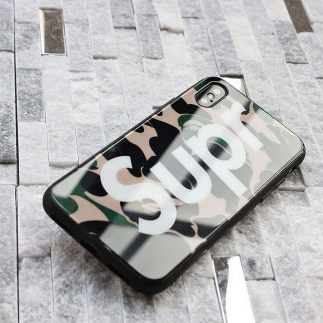BRAND NEW SUPR x LV case for iPhone X
