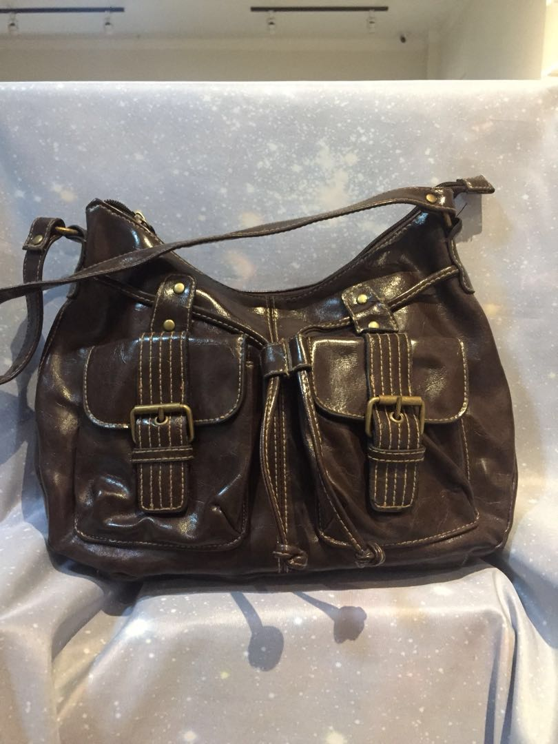 5f57926258 Brown hobo bag (unknown brand)