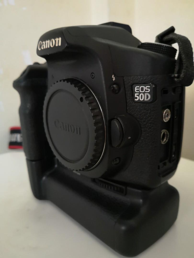 Canon 50D + Battery Grip, Photography, Cameras, Others on