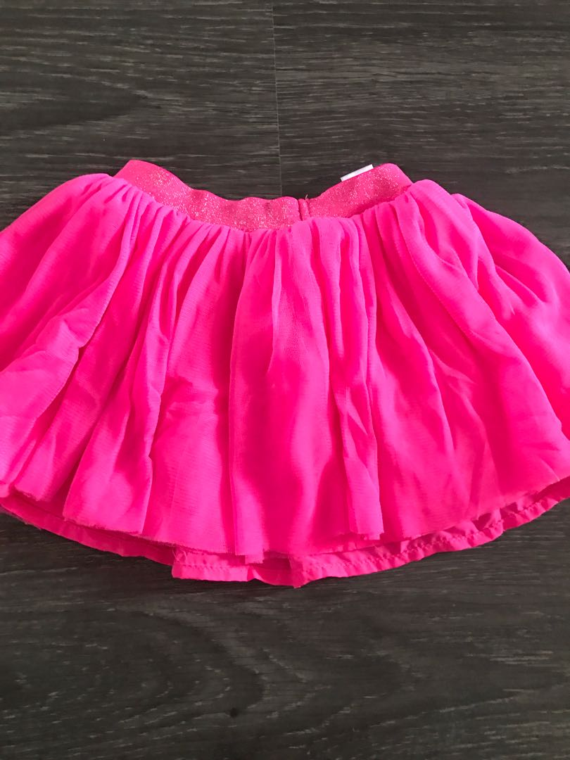 d2a28e4efb Carters tutu skirt in neon pink!, Babies & Kids, Babies Apparel on ...