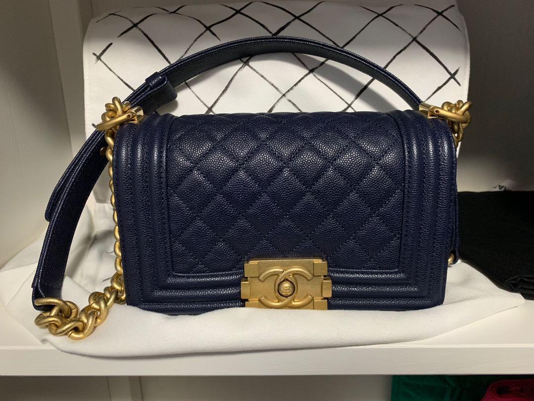 0779715e97e7 Chanel Boy, Women's Fashion, Bags & Wallets, Handbags on Carousell