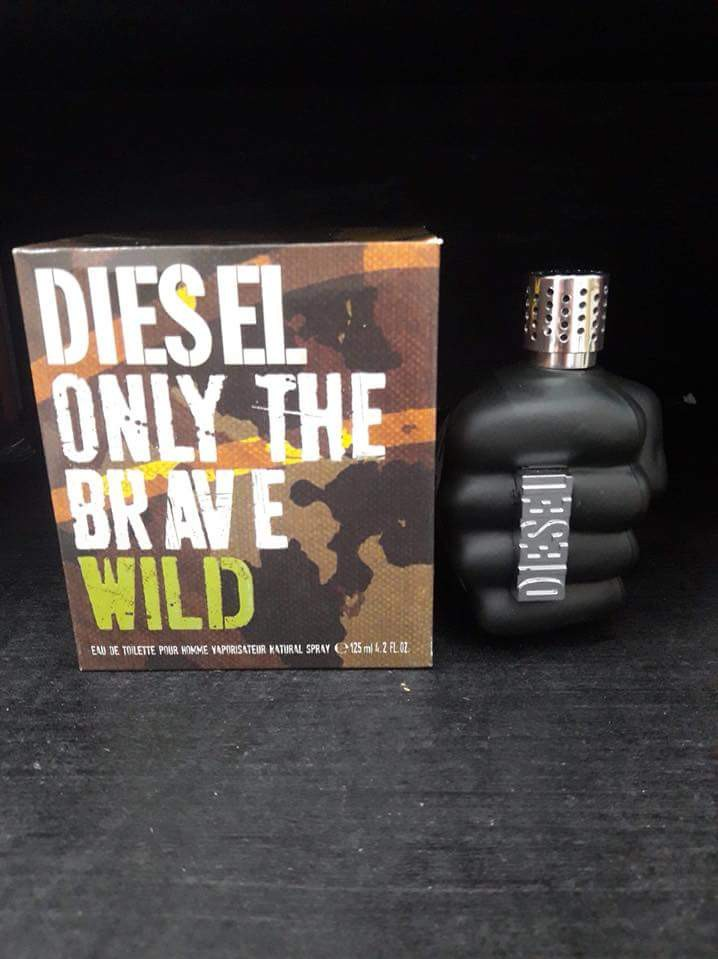 Diesel Only The Brave Wild Health Beauty Perfumes Nail Care