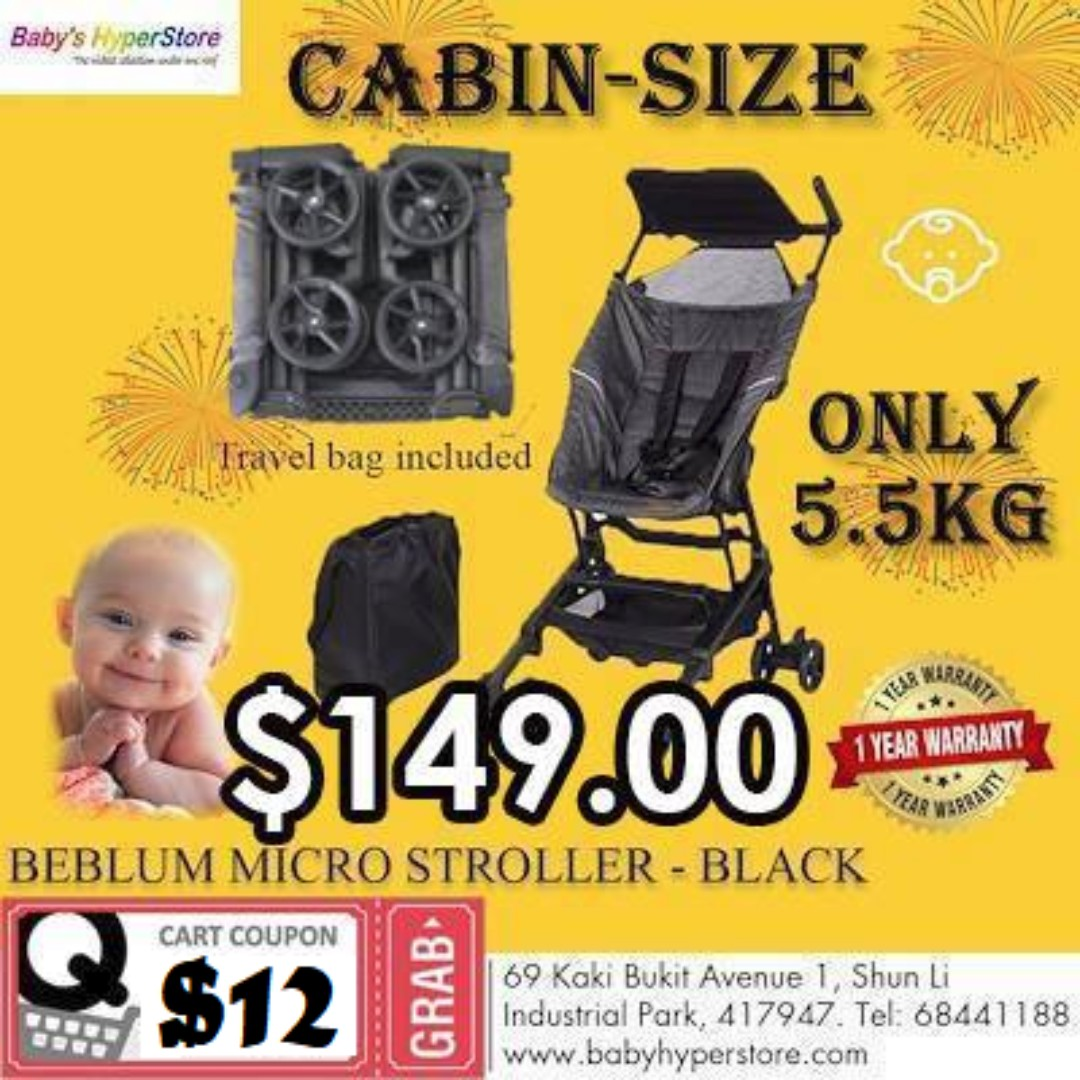 f2064901c82 Exclusive on Qoo10 10 10 EVENT ONLY!!!😳😳😳  149 FOR MICRO STROLLER ...