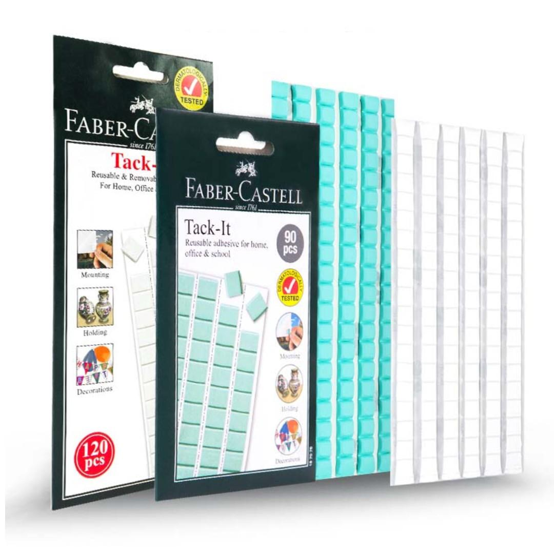 Artists Display Adhesive. Faber Castell White Adhesive Tack It 50g