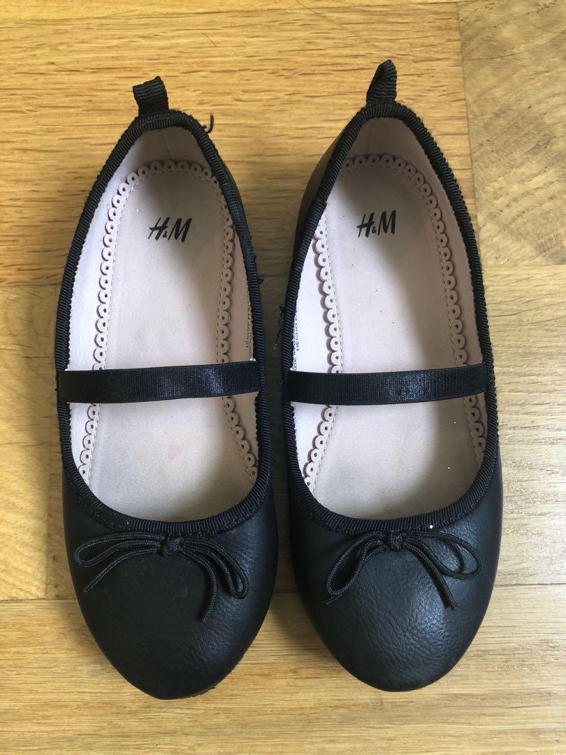 fc64183a0e6 Girls Black Ballet Flats