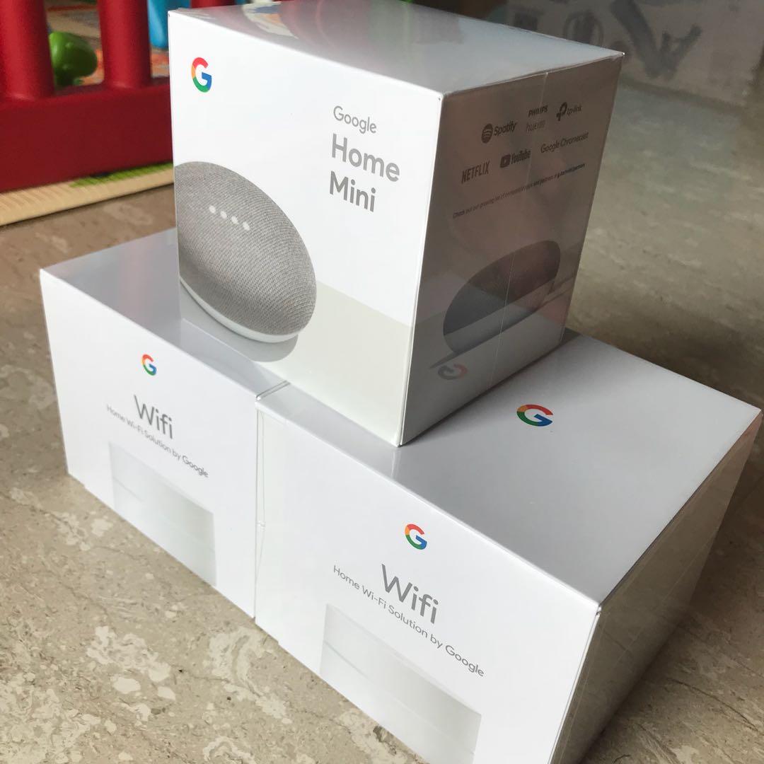 Google WiFi (x2) + Google Home Mini
