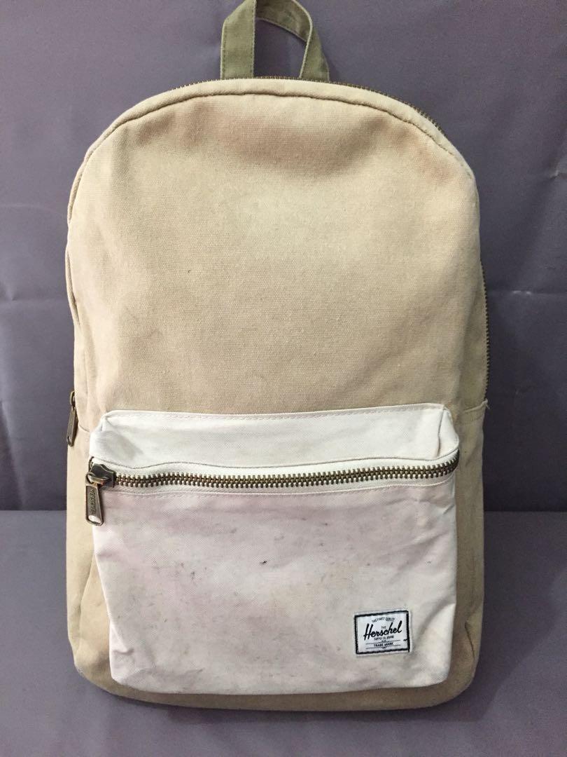 58bd5ca5fca Herschel Supply cotton canvas backpack
