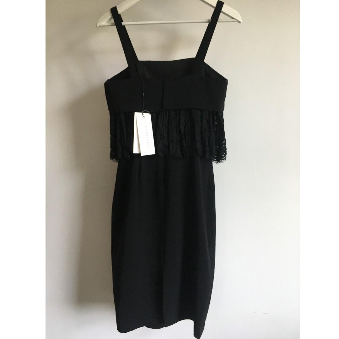 88efdafd81d Keepsake Brand New Black Lace Dress