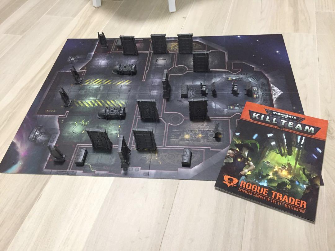 Kill Team Rogue Trader Terrain, Board, Rulebook, Toys