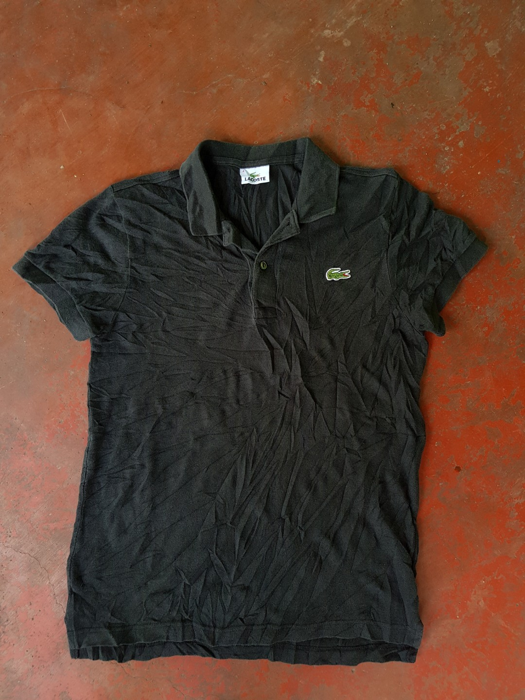 e0b992fc Lacoste Semi Big Logo Polo Shirt Men S Fashion Clothes On Carousell