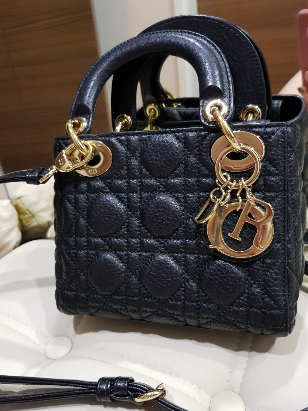 4e4c479a65 Mini Lady Dior Bag, Luxury, Bags & Wallets, Handbags on Carousell