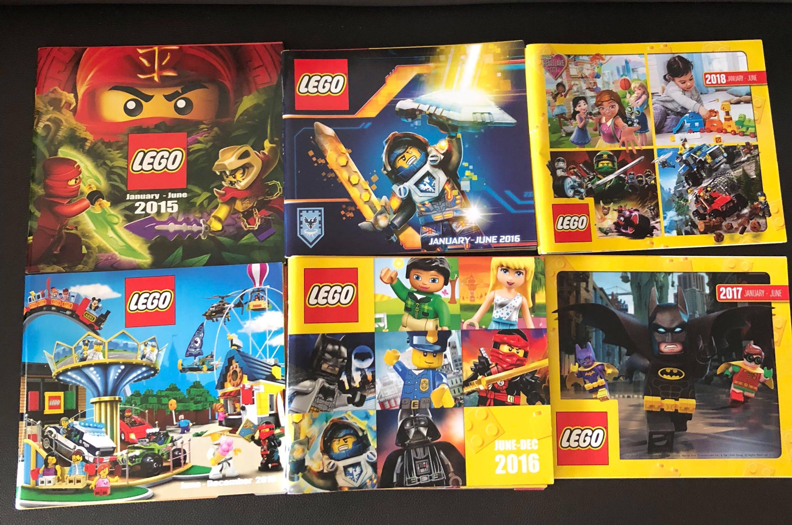Lego Catalogue, Toys & Games, Bricks & Figurines on Carousell
