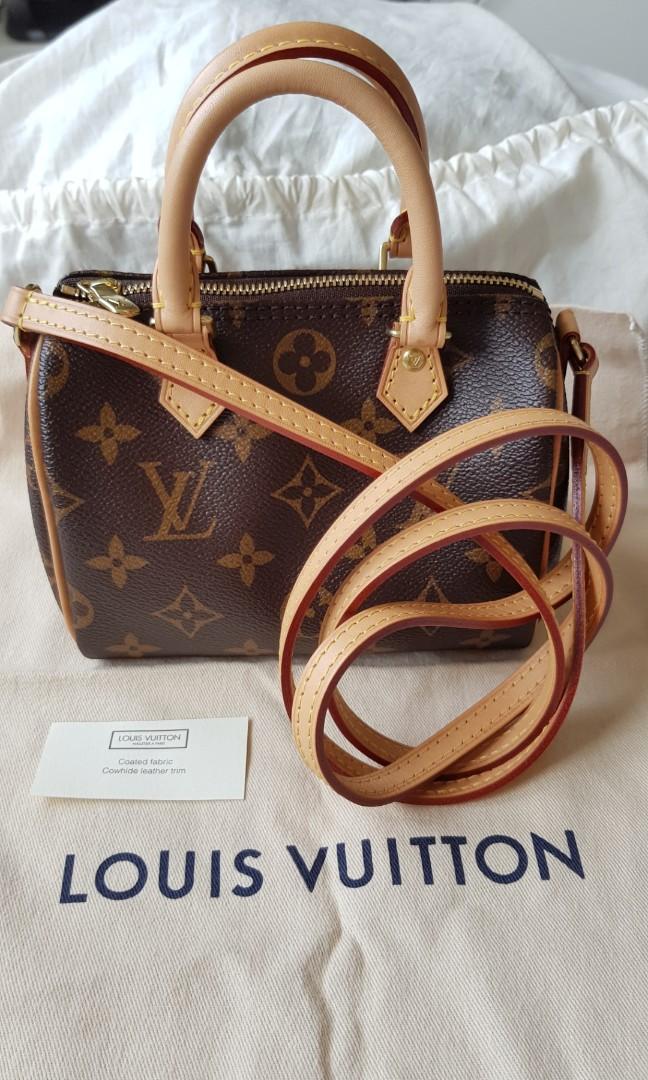 9e312226646 LOUIS VUITTON Nano Speedy  Mini, Luxury, Bags   Wallets, Sling Bags ...