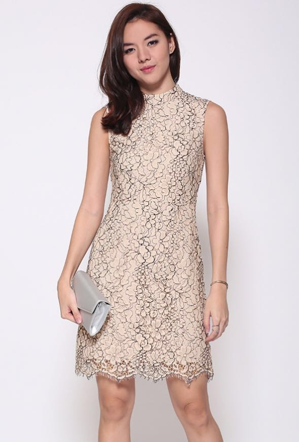 fc0ba1df246 Love Bonito Covet Eristya Lace Dress