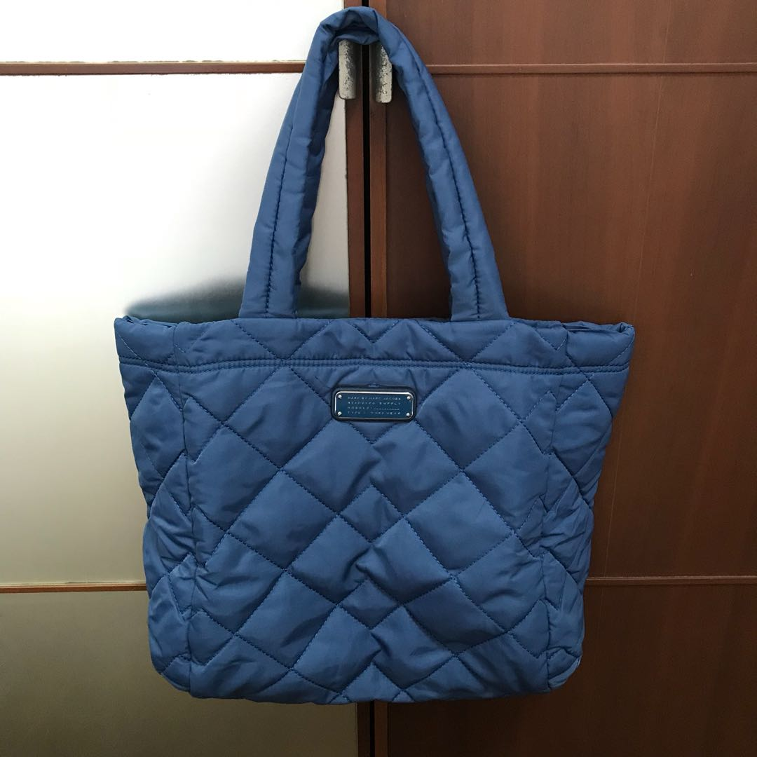 05bed37ed2bb Marc Jacobs Crosby Quilted Nylon Tote Bag