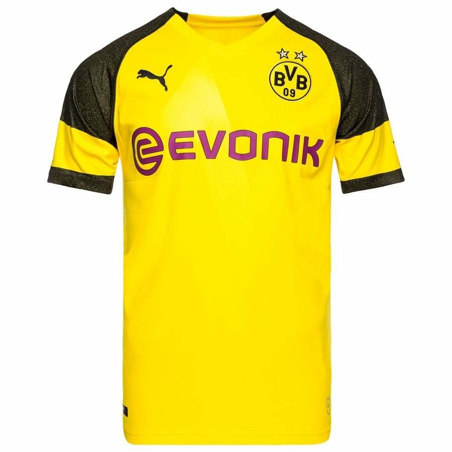 4ee35672e New Puma Borussia Dortmund 2018 2019 Home Football Jersey
