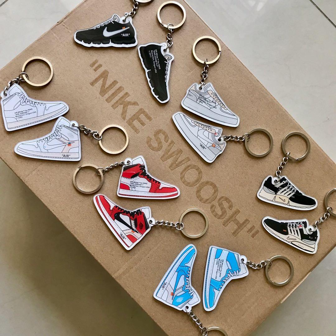 05f692dd7d Nike Off White Sneaker Keychain, Men's Fashion, Footwear, Sneakers ...